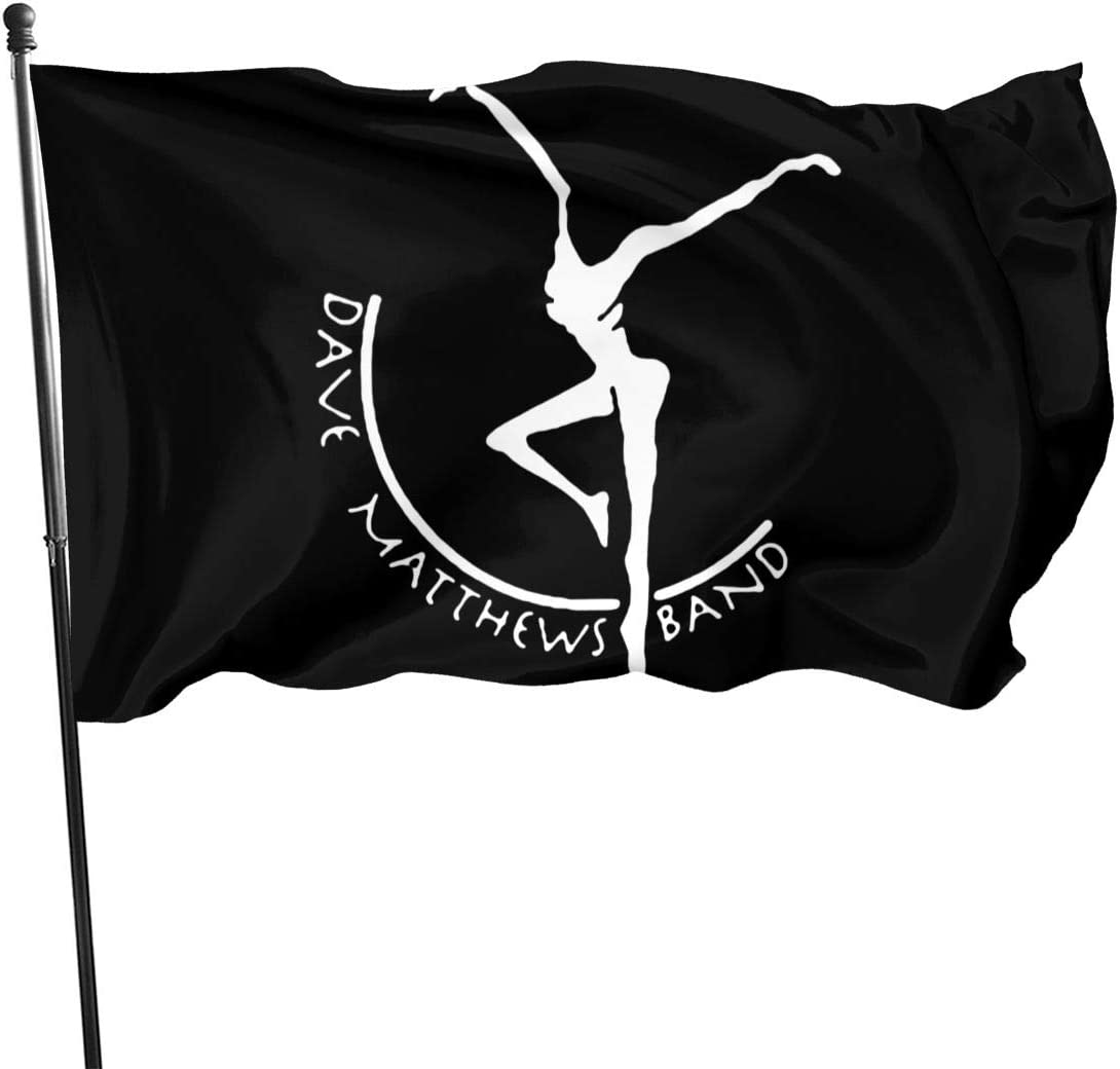MarcoBLyons D-Ave M-Atthews Band Logo Garden Flag Home Decorative Flag Yard Personalized Banner Indoor Outdoor 3 X 5 Ft