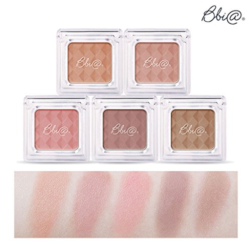 Bbia Everyday Natural Look Eye Shade Shadow 3g 5 Color Set Five Beauty Series 6 – 10 Matte Collection