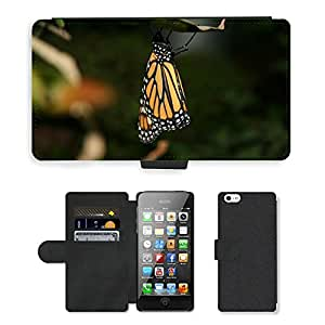 GoGoMobile PU LEATHER case coque housse smartphone Flip bag Cover protection // M00123950 Mariposa Mariposas Insectos // Apple iPhone 5 5S 5G