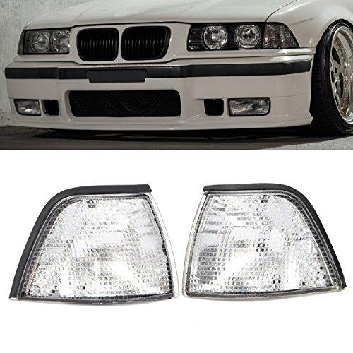 Convertible 2dr Coupe - Fincos Corner Lights Side Lights for BMW E36 3-Series 2DR Coupe/Convertible Clear Lens