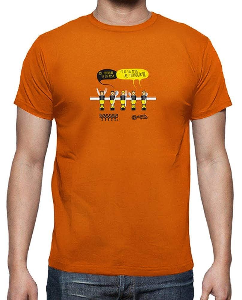 latostadora - Camiseta de la Mesa Al Futboln para Hombre: SoccerTable: Amazon.es: Ropa y accesorios