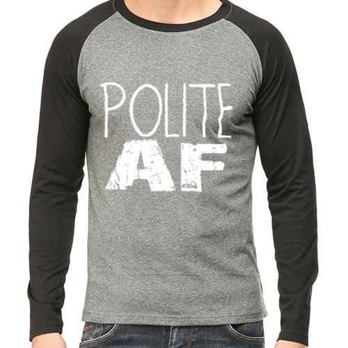 WhatayWear Pure SuperCombed Cotton College POLITE AF Stylish