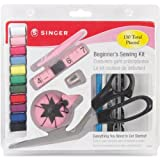 Singer 1512 Beginners Sewing Kit, 130 pieces