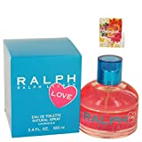 Ralph Lauren Love Perfume By Ralph Lauren Eau De Toilette Spray For Women 3.4 oz. 100 ml. + Free! Sample Perfume Desigual Fresh 0.05 oz Vial