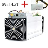AntMiner S9j ~14.5TH/s @ 0.093W/GH 16nm ASIC Bitcoin Miner with PSU and Power Cord