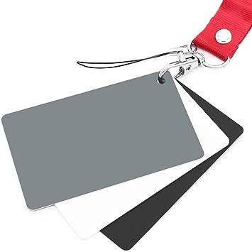 Anwenk Grey Card White Balance Card 18% Exposure Photography Card Custom Calibration Camera Checker Video, DSLR and Film