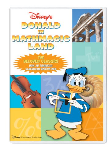 Worksheets Donald In Mathmagic Land Worksheet amazon com donald in mathmagic land classroom edition dvd clarence nash paul frees hamilton luske movies tv