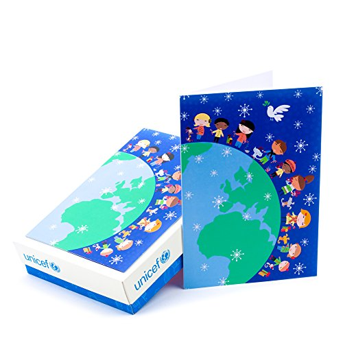 Hallmark UNICEF Christmas Boxed Cards (Children Around the World, 20 Christmas Greeting Cards and 21 Envelopes) Christmas Card Kids