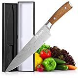 Pro Chef Knife, RUANQ 8 Inchs Kitchen Knife, German