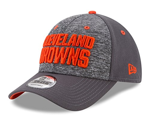 NFL Cleveland Browns Adult Men The League Shadow 2 9FORTY Adjustable Cap, One Size, Graphite