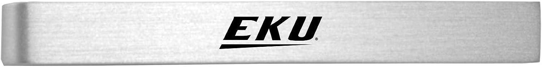 Eastern Kentucky University Brushed Metal Tie Clip-Silver