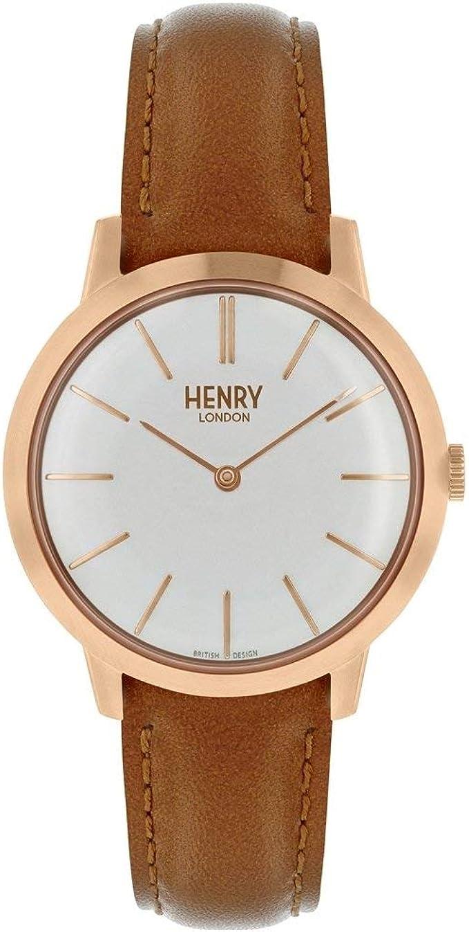 Henry London HL34-S-0212 - Reloj icónico para Mujer ...