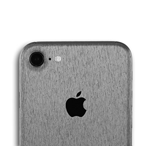 AppSkins Rückseite iPhone 7 Full Cover - Metal steel