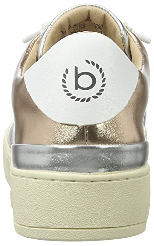 Bugatti 422291605050 Mujer metallics Blanco Zapatillas white Para 2090 SSwq1rp