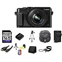 Panasonic LUMIX DMC-LX100 Digital Camera (Black) Bundle 6