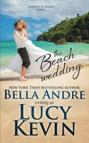 book cover of The Beach Wedding