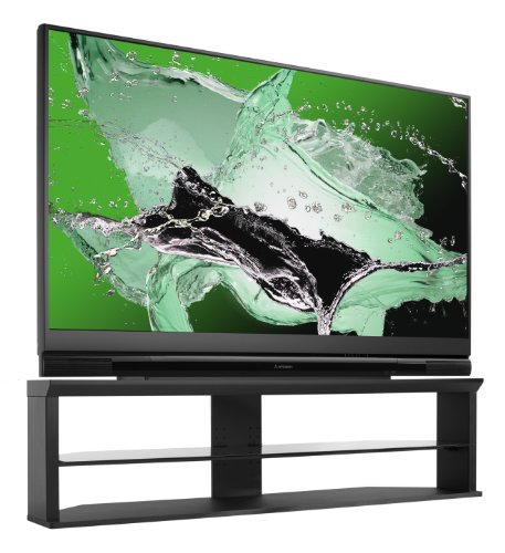 51ZvaACtsML amazon com mitsubishi wd 73738 73 inch 3d dlp hdtv (2010 model  at creativeand.co