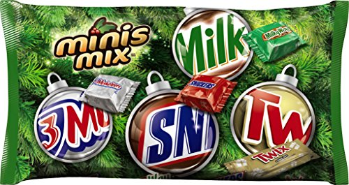 MARS Chocolate Minis Size Holiday Candy Bars