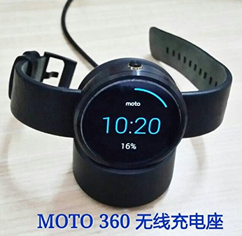 Fosheng Tide Smart Watch Wireless Charging Dock Charger Adapter For Motorola Moto - Adaptor Motorola