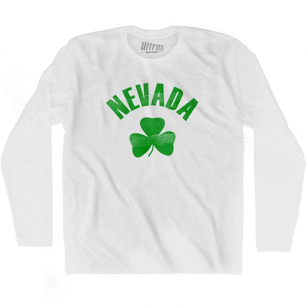 Ultras Nevada State Shamrock Cotton Long Sleeve T-Shirt