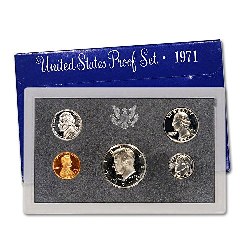 - 1971 S US Proof Set Superb Gem Uncirculated