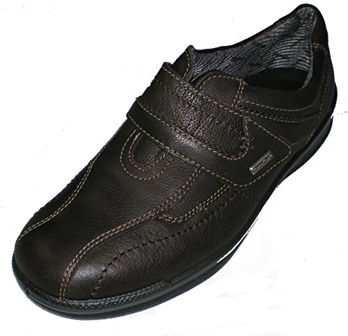 Jomos Mens Mocassini In Pelle-scarpe Marrone