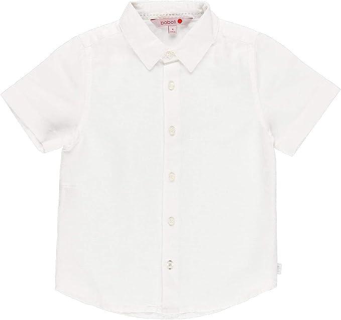 boboli Notting Hill Camisa para Chico Blanco 140: Amazon.es: Ropa y accesorios