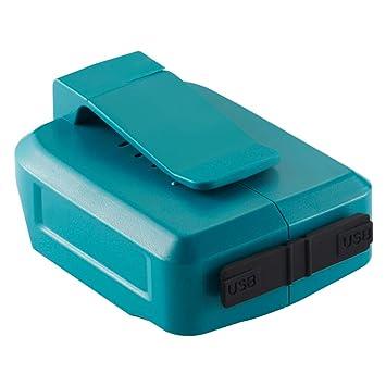 TenHutt 14.4V-18V Adaptador de cargador USB para todas las ...