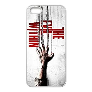games The Evil Within Game Poster iPhone 4 4s Cell Phone Case White Cover protective Skin Shield PJZ003-2307268