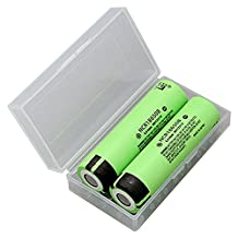 Panasonic NCR18650B 18650 3.7V 3400mAh Lithium Li-ion Rechargeable Battery (2 Pieces)