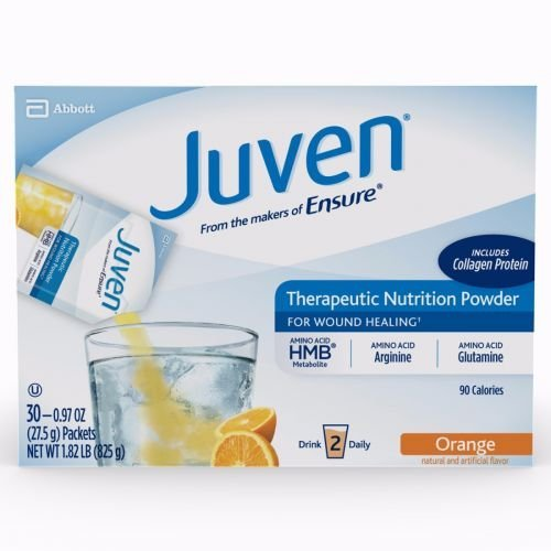 Juven Therapeutic Nutrition Drink Mix - Orange,  (30 Packets) by Juven (Image #1)