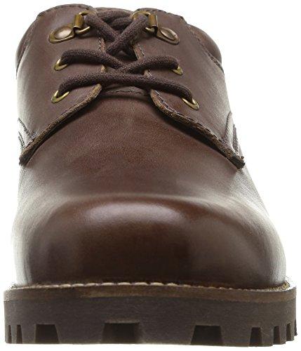 TBS Geosby - Zapatos de Cordones de cuero hombre marrón - marrón