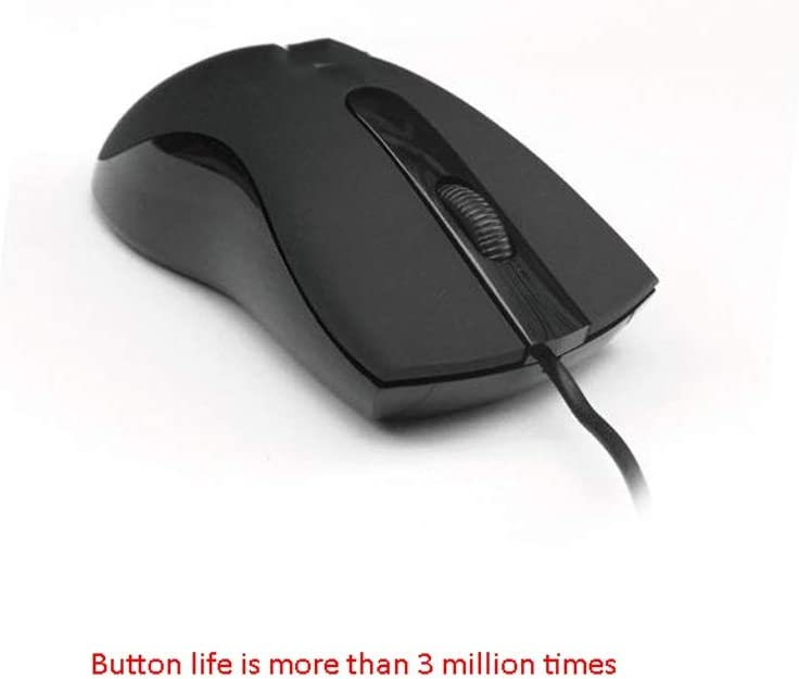 XXW Mouse Genuine Portable Desktop Computer Notebook Office Home Mouse USB Wired Photoelectric Optical Mouse