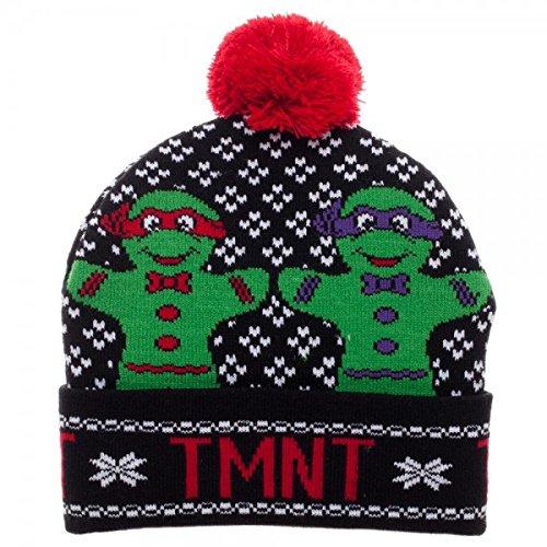 Ninja Turtle Beanie (Teenage Mutant Ninja Turtles Gingerbread Pom Cuff Beanie)