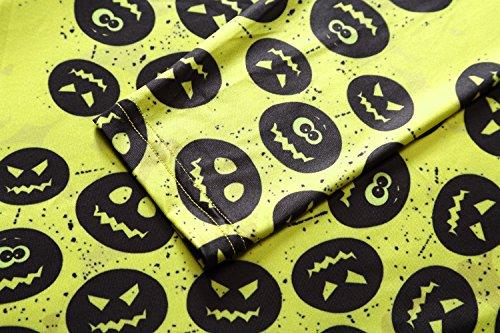 16086cc65708 Women s Halloween Scary Bat Pumpkin Spider Smock Swing Dress Funny Long  Sleeve Party Dresses