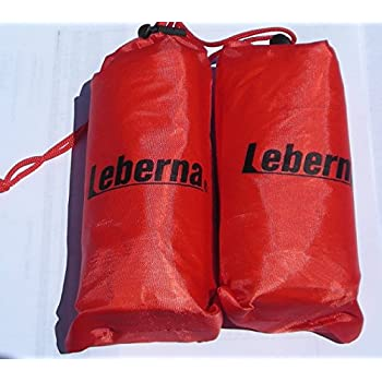 "Emergency Survival Mylar Thermal Sleeping Bag - 3 FT x 7 FT 36""x84"", 2 Sleeping Bags in One Box, Each Sleeping Bag in One Carry Bag"