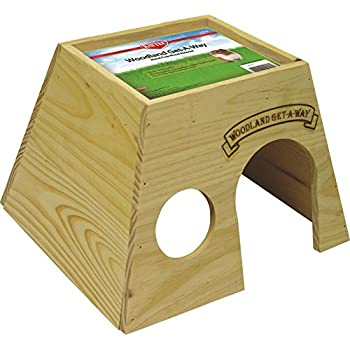 Kaytee Woodland Get-A-Way Large Guinea Pig House