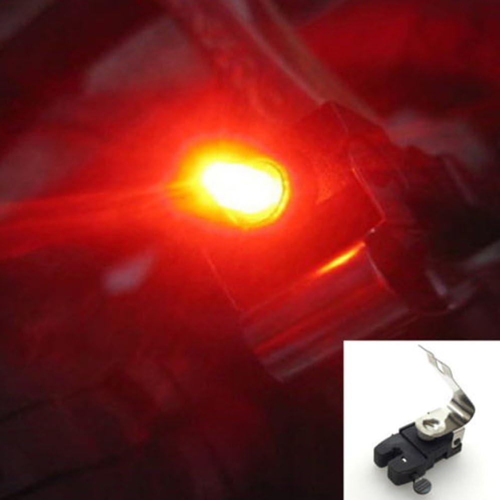 Mini Bike Brake Light Mount Tail Rear Bicycle Cycling LED Safety Warning Lamp