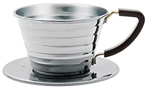 Kalita #04021 Stainless Steel Wave 155 Coffee Dripper