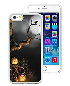 Niche market Phone Case iPhone 6 Case,Halloween scene White iPhone 6 4.7 Inch TPU Case 1