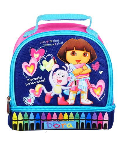 Dora the Explorer Brotdose - Tasche Nickelodeon 31236 lunch-dora-kdj31236-fbu