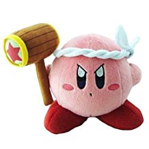 Thinkfuntoys Kirby Adventures Hammer Plush Doll