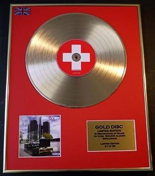 EMINEM//Goldene Schallplatte Record Limitierte Edition//8 MILE