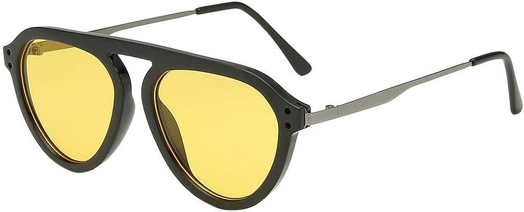 Trisee ✔ Sonnenbrille Ultra Light UV-Schutz UV400 Klassisch Polarisierte Sonnenbrille Herren Sonnenbrille Damen Polarisiert Brille Ohne Sehst/äRke Mode Blaulichtfilter Brille