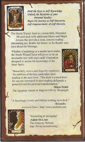 Steele Wizard Boxed Tarot Set by Pamela Steele
