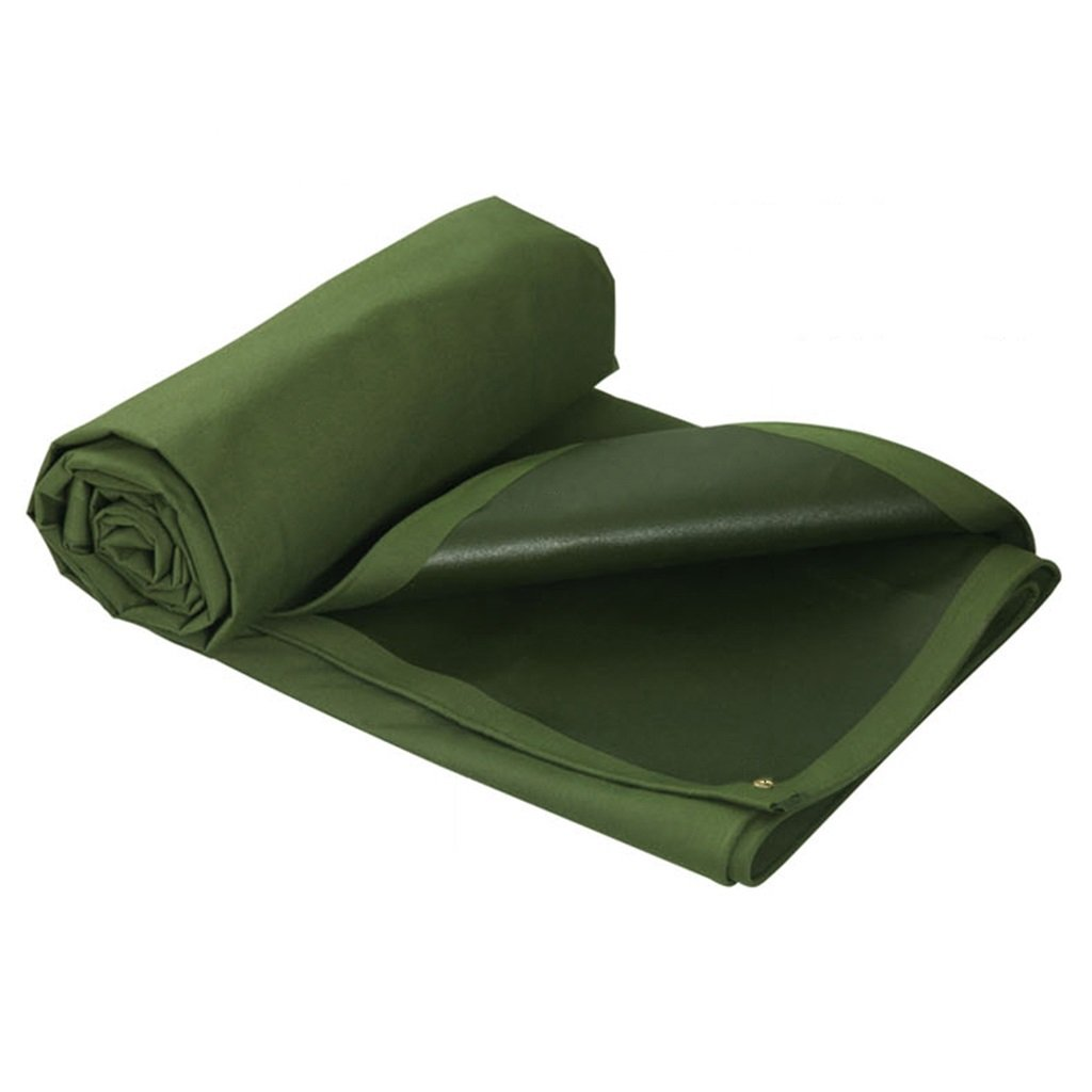 Zelt Zubehör Plane Grüne 100% Wasserdichte Tarp UV geschützte Hochleistungsplane - mit hoher Dichte gesponnenes Polyäthylen 700g   m², Stärke 0.8mm, Multi-Größe Wahlen Idee für Camping Wandern