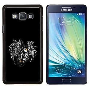 """Be-Star Único Patrón Plástico Duro Fundas Cover Cubre Hard Case Cover Para Samsung Galaxy A7 / SM-A700 ( Buena Divertida Flying pingüino"""" )"""