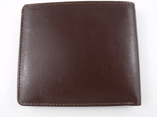 Brown Mens Boxed Wallet Mens Soft Soft Leather wz8g71qq