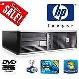 HP Desktop Computer - HP dc7800 Small Form Factor (SFF) Wi-Fi (USB) Desktop PC - Powerful Intel Core 2 Duo 2.33GHz Processor - 160GB Hard Drive - 4GB Memory (RAM) - DVD MultiPlayer - Genuine Windows 7 License