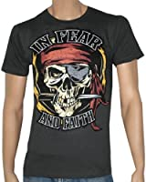 IN FEAR AND FAITH - Swashbuckler - Gray T-shirt